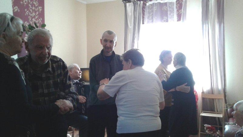Мероприятие в пансионате для пожилых Павловский