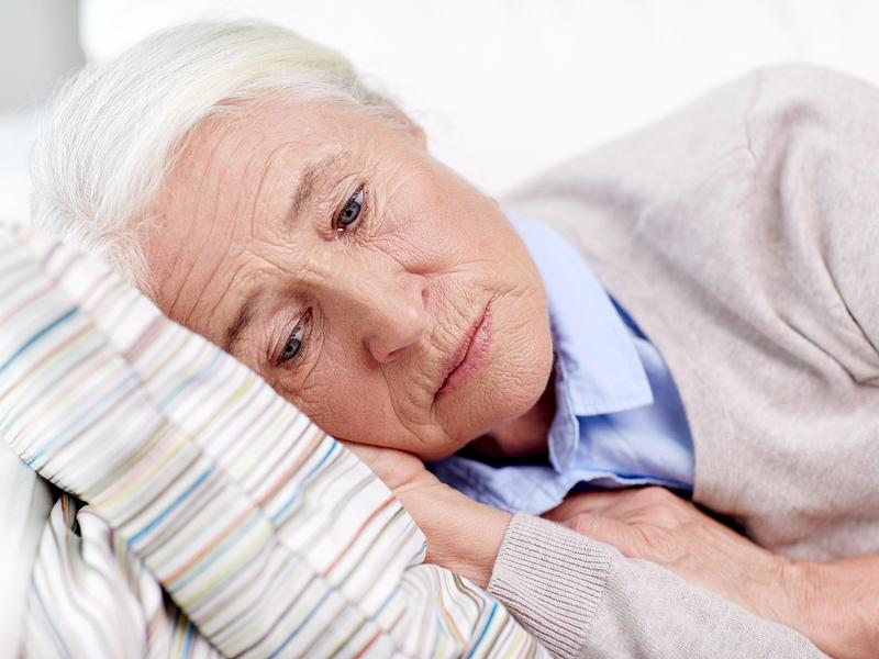 женщина пенсионного возраста