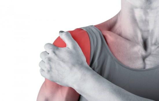 Симптомы травмы шейки плеча