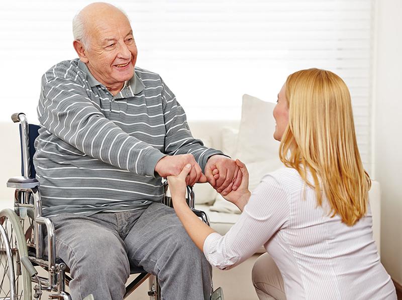 Пособие по уходу за пожилым старше 80 лет