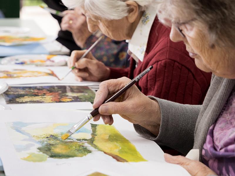 Арт-терапия для пожилых