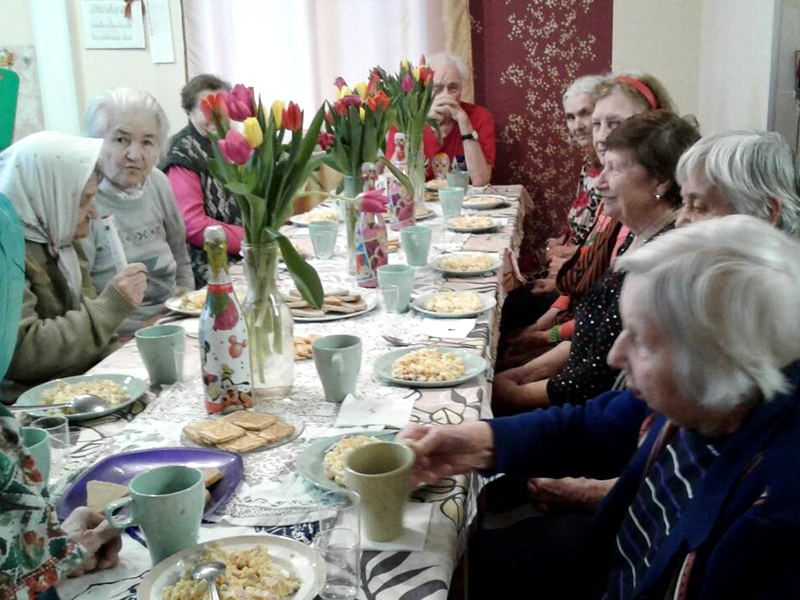 Международный женский день в пансионате