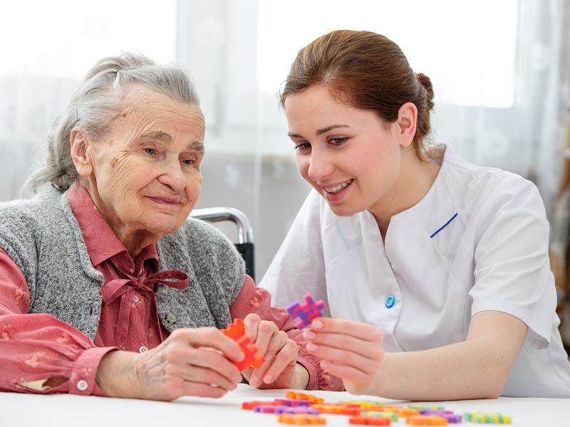 Техника Монтессори для пожилых
