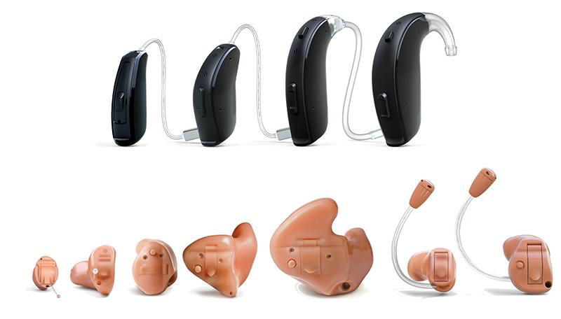 типы слуховых аппаратов