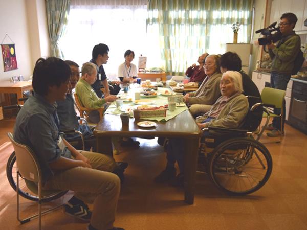 Питание пожилых людей в Киото
