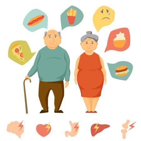 Нормы веса пожилых людей