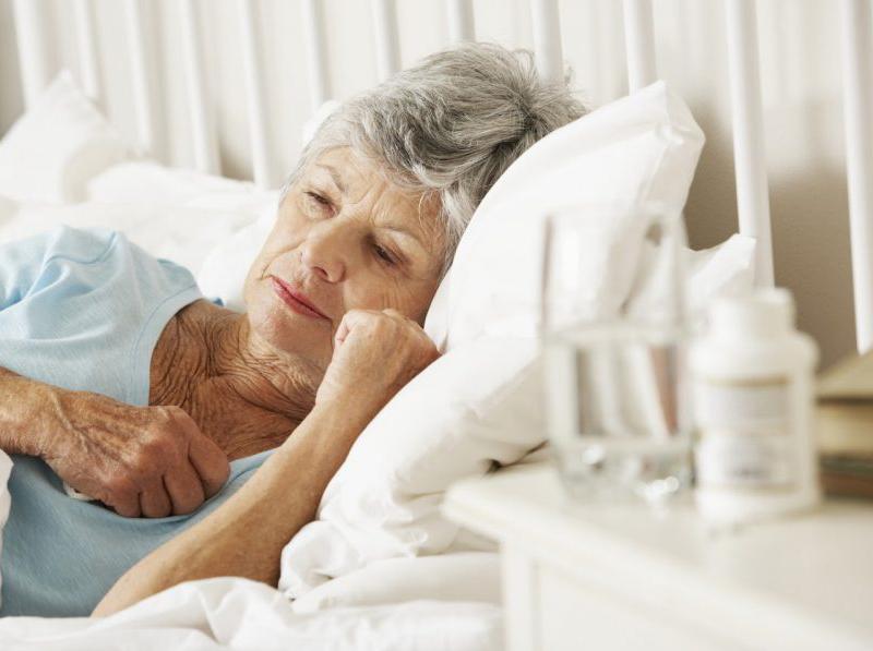 Проблемы со сном в пожилом возрасте