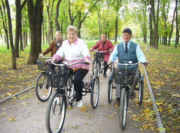 Можно ли пожилым кататься на велосипеде