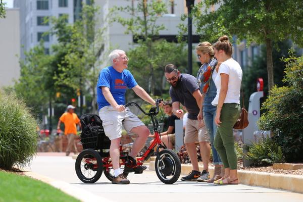 Выбор велосипеда для пожилых