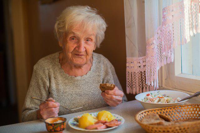 Очищение организма старых людей