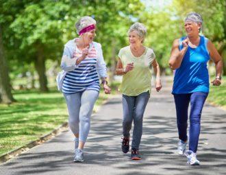 бег для пожилых