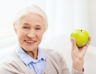 Здоровые зубы в пожилом возрасте