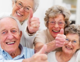Пансионат для престарелых.