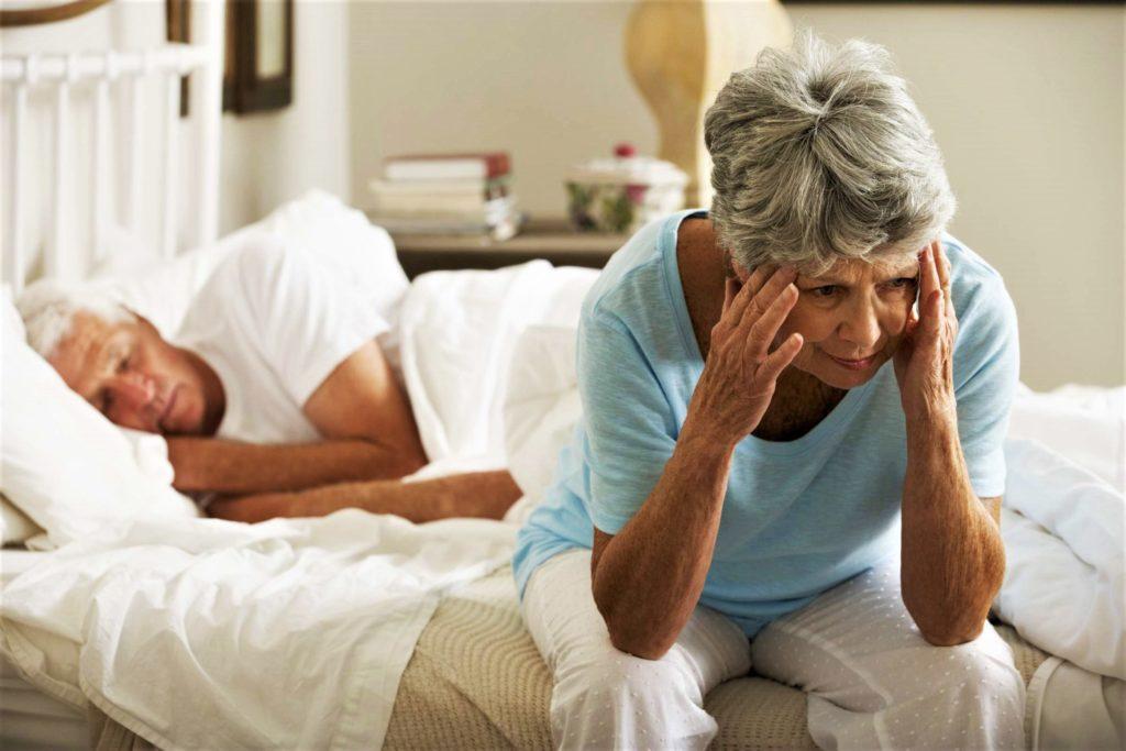 Бессонница у пожилых
